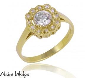 טבעת אירוסין בארוק
