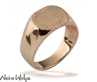 טבעת חותם מודרנית
