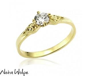 טבעת בסגנון וינטג' רוסי