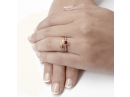 Ruby and Diamonds Engagement Ring