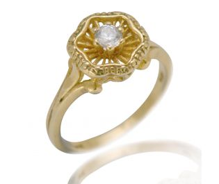 Intricate Engagement Ring