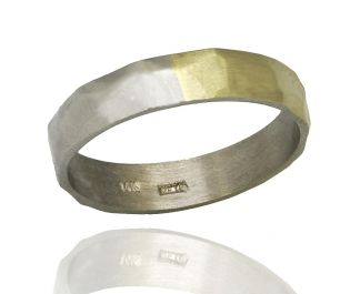 Two-Toned Wedding Ring